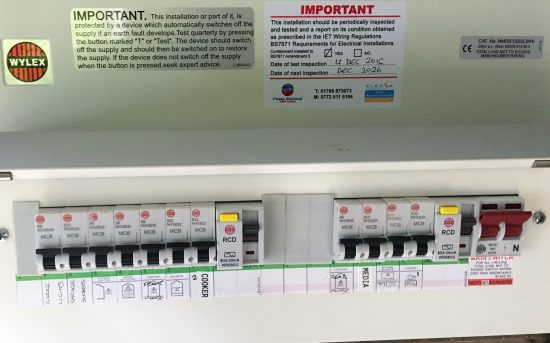 electrical testing manchester